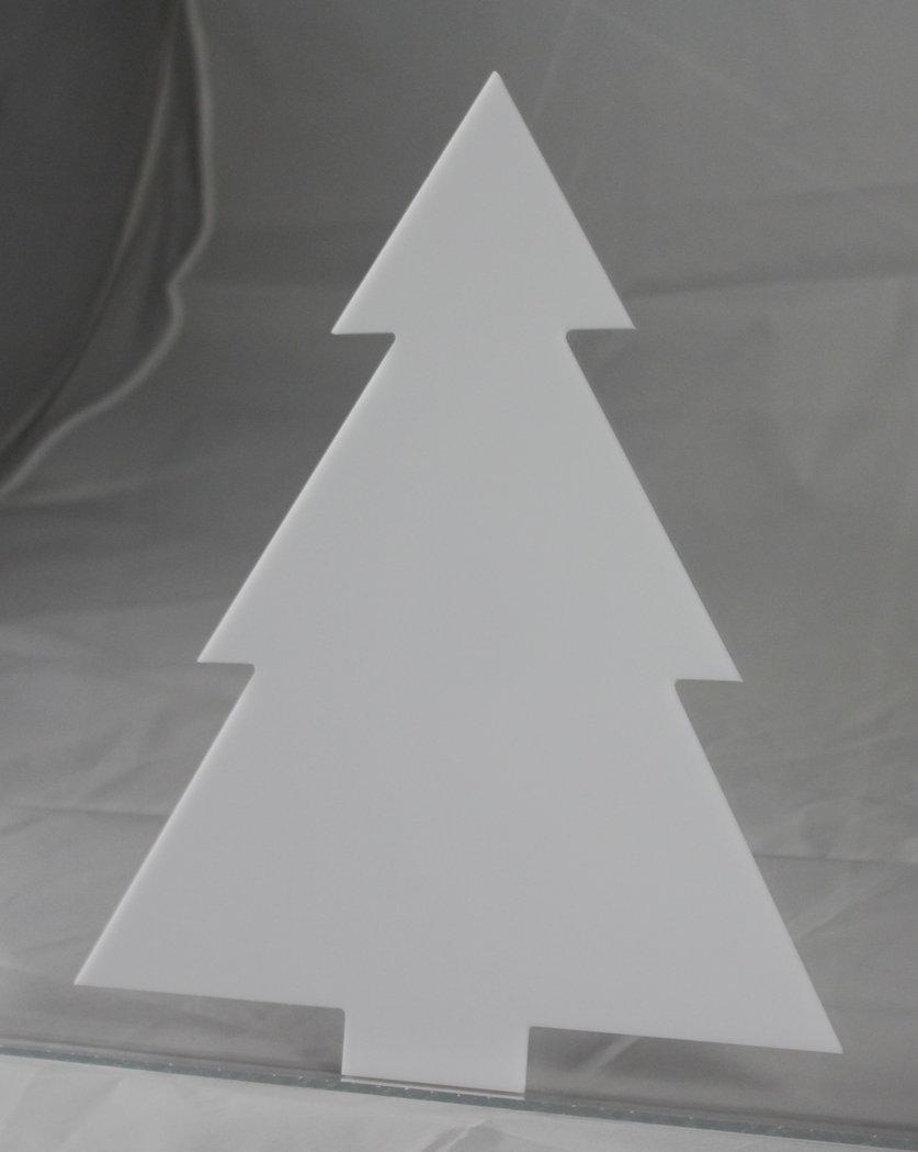 tanne weihnachtsbaum acrylglas zum aufstellen 31 5 cm. Black Bedroom Furniture Sets. Home Design Ideas